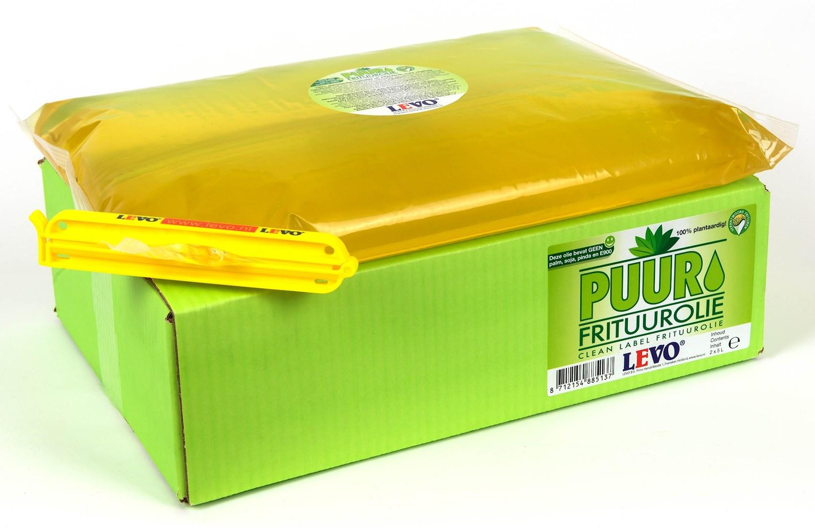 Productafbeelding PUUR frituurolie packzak