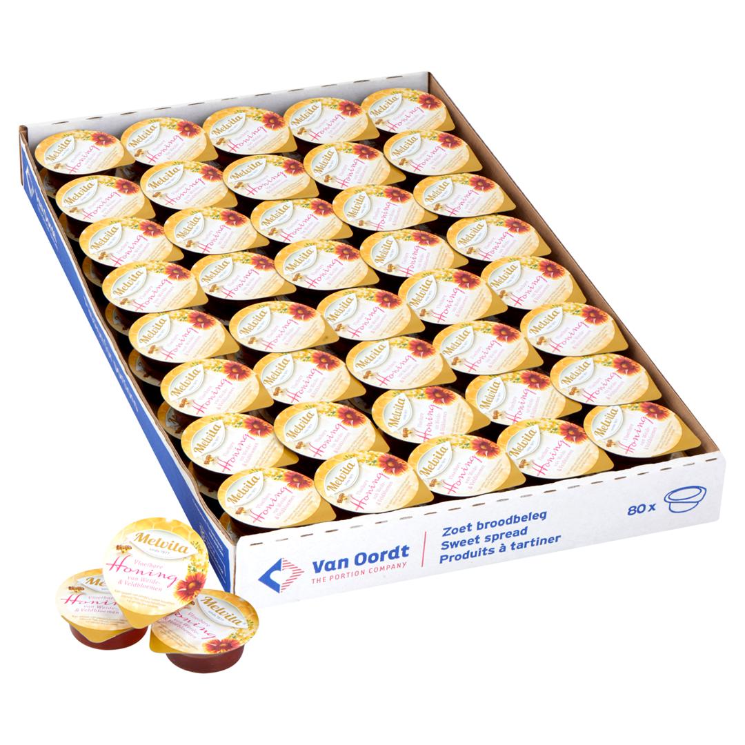 Productafbeelding Honing in cup 80x15g * NIEUW *