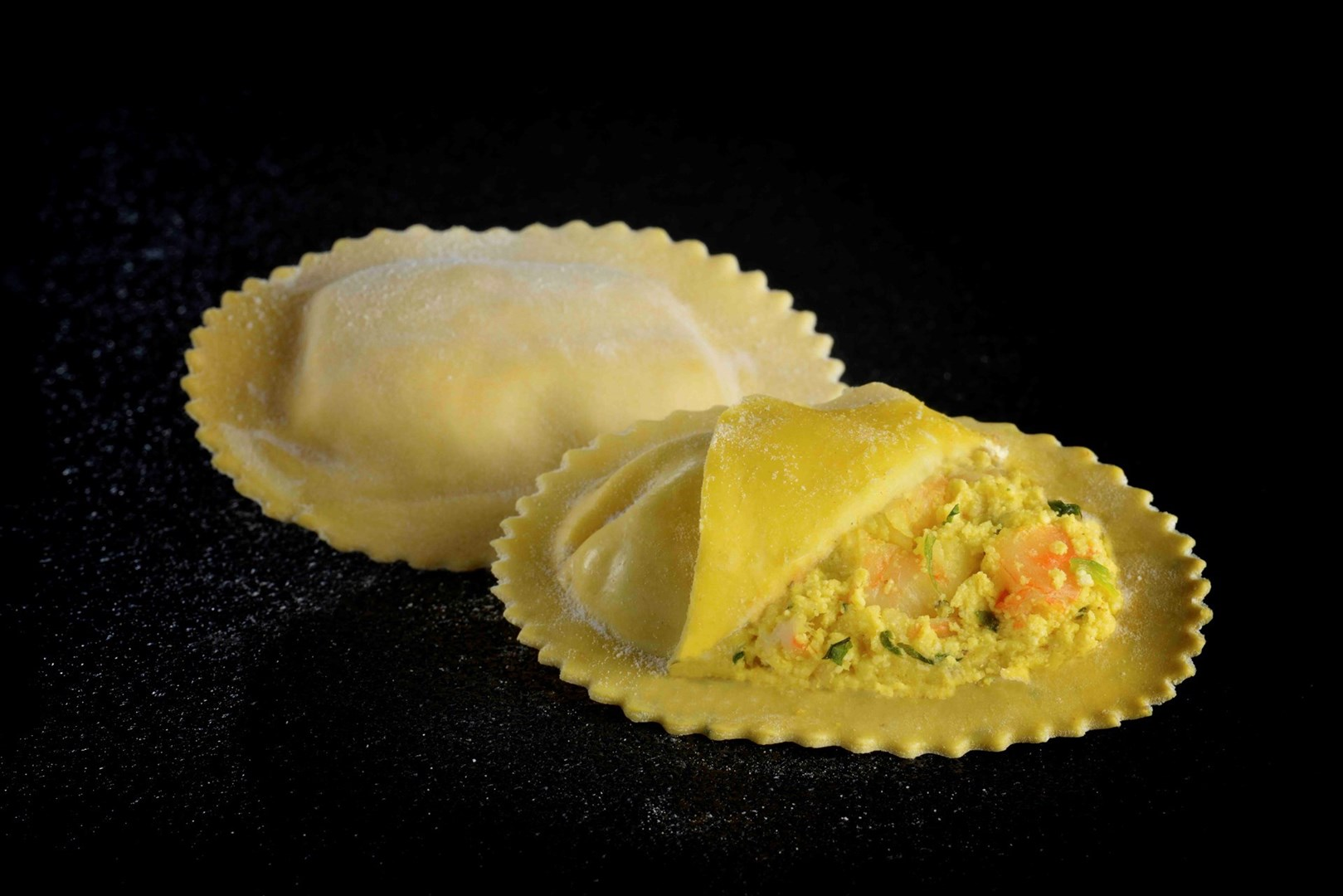 Productafbeelding Ravioloni scampi curry diepvries 1 kg