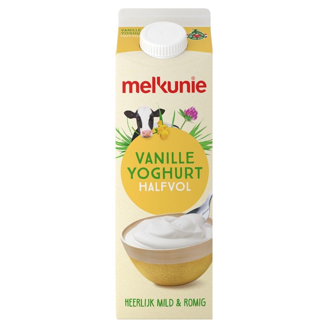 Productafbeelding Melkunie Halfvolle Vanilleyoghurt 1L pak