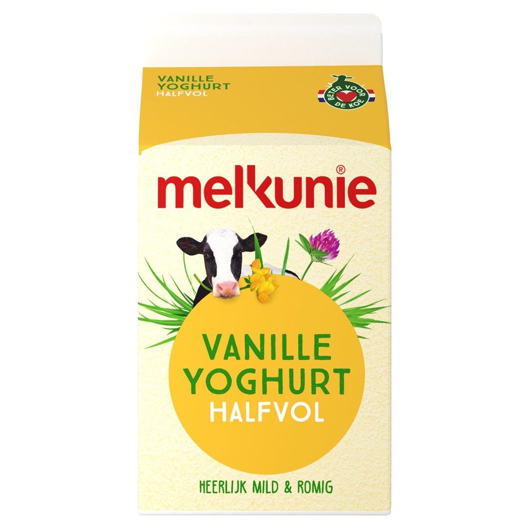 Productafbeelding Melkunie Halfvolle Vanilleyoghurt 500ml pak
