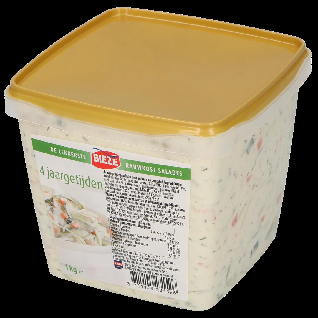 Productafbeelding Vier jaargetijden salade 1kg (Bieze foodservice)