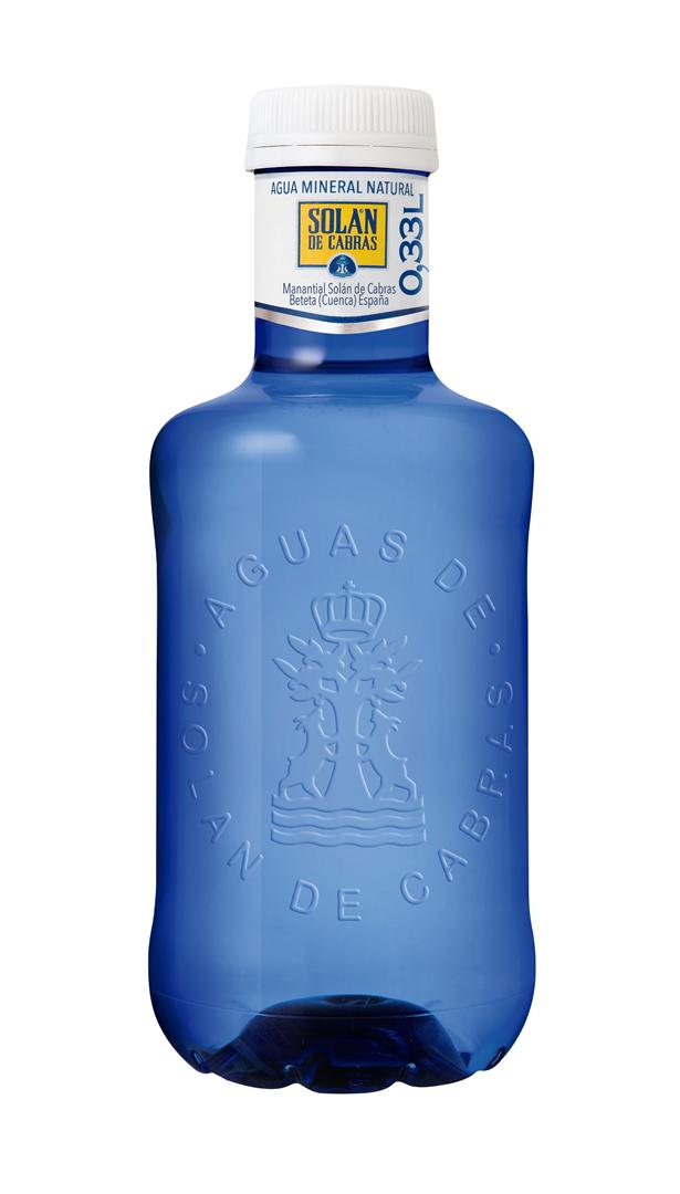 Productafbeelding Solan de Cabras mineraalwater 0,33L fles