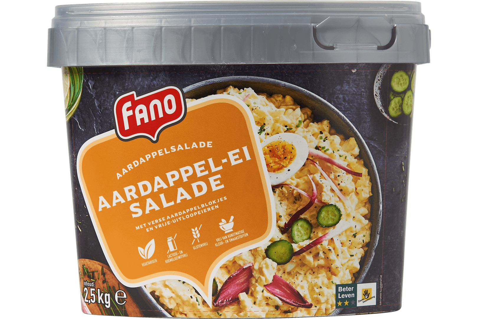 Productafbeelding FANO Aardappel Ei Salade 2.5kg