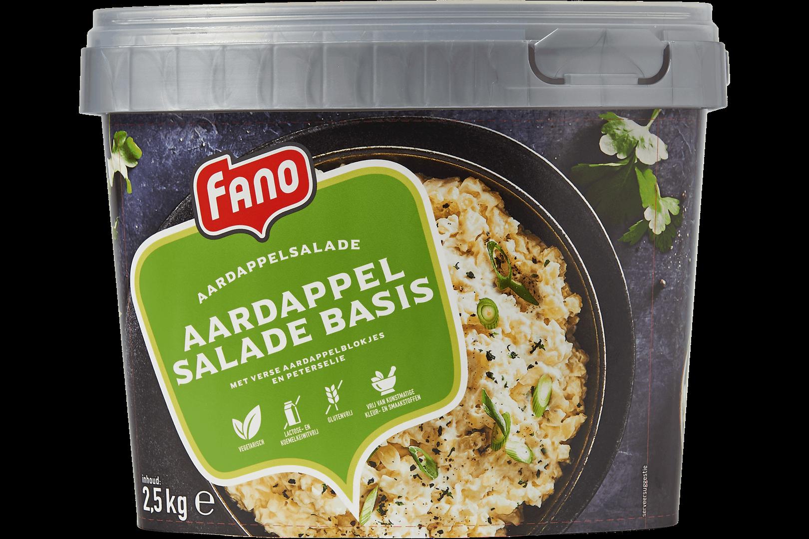 Productafbeelding FANO Aardappelsalade Basis 2,5kg