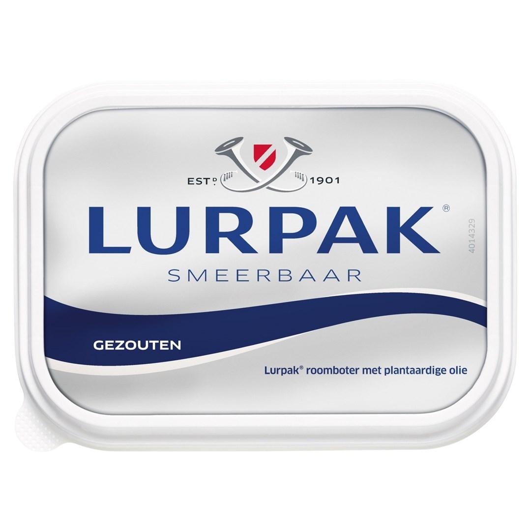 Productafbeelding Lurpak smeerbare boter gezouten 250gr