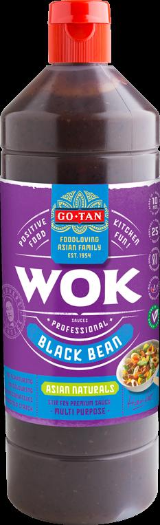 Productafbeelding Go-Tan Woksaus Black Bean 1000ml Asian Naturals