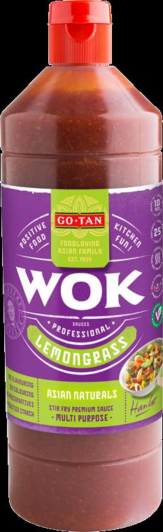 Productafbeelding Go-Tan Woksaus Lemongrass 1000ml Asian Naturals
