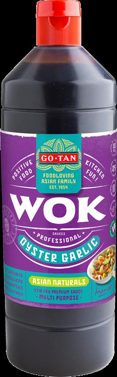 Productafbeelding Go-Tan Woksaus Oyster Garlic 1000ml Asian Naturals