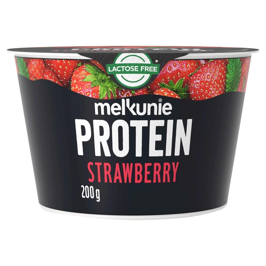 Productafbeelding Melkunie Protein Kwark Aardbei 200gr