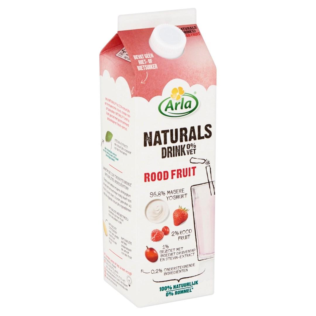 Productafbeelding Arla Naturals Drinkyoghurt Rood Fruit 1L