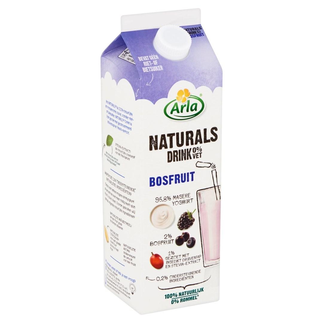 Productafbeelding Arla Naturals Drinkyoghurt Bosfruit 1L
