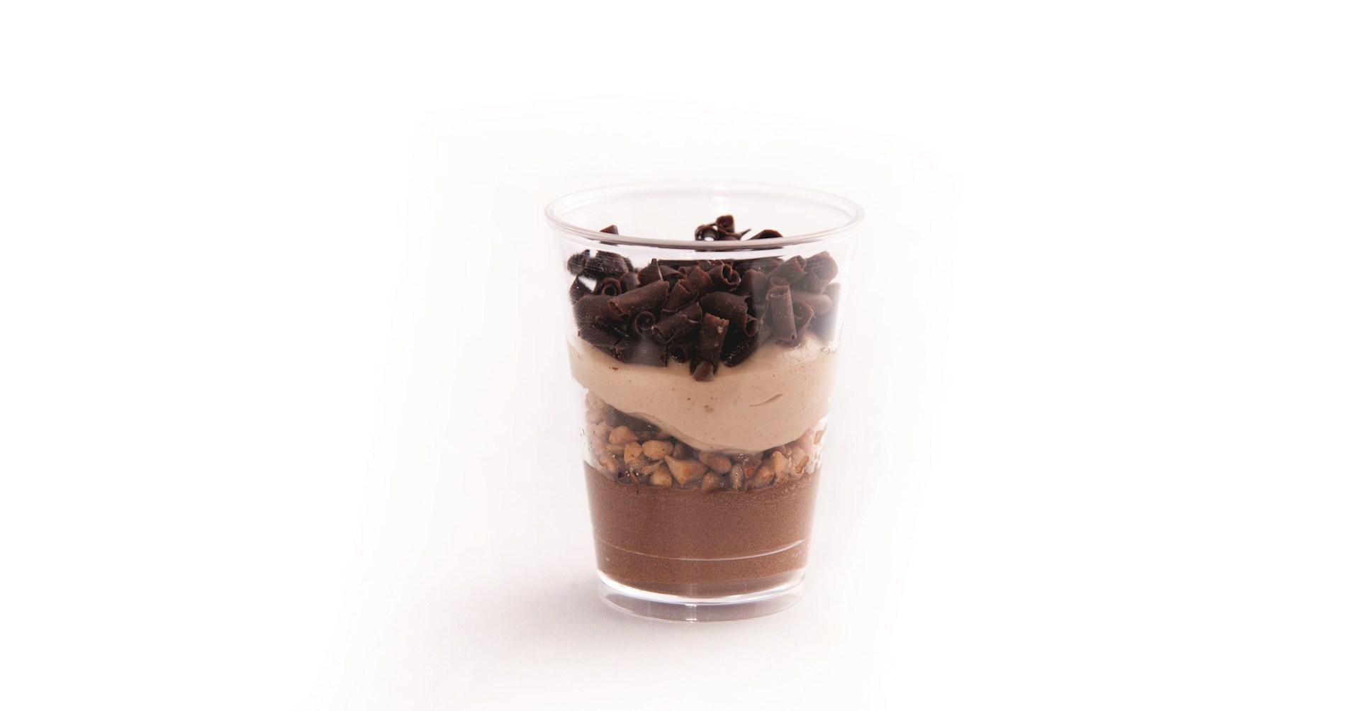Productafbeelding Dessert Zwarte chocolade, Praline, Ganache