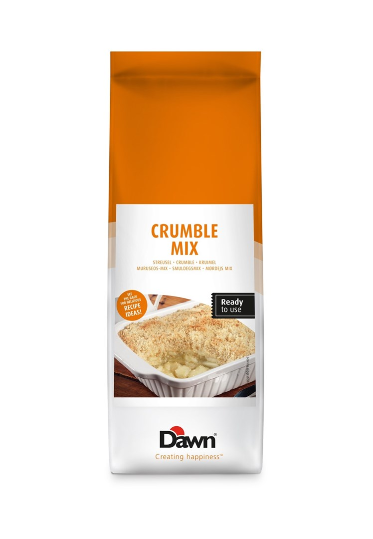 Productafbeelding Dawn Crumble Mix 3,5 KG zak