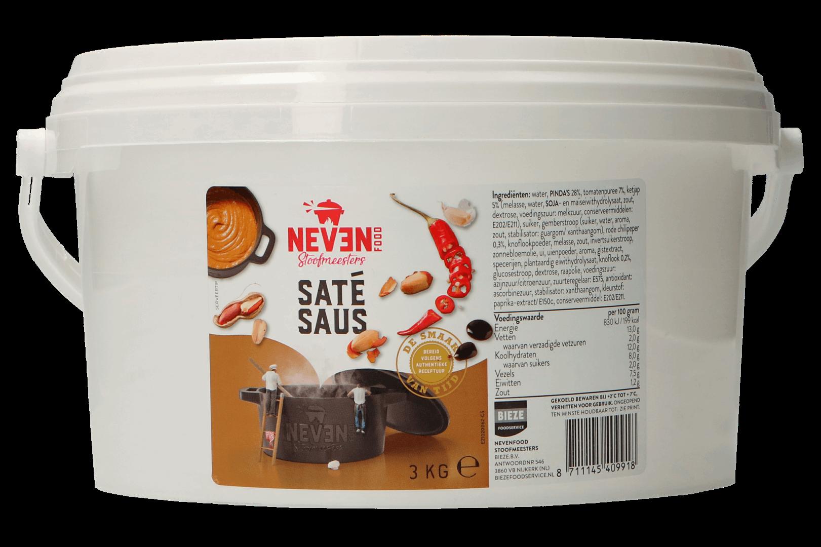Productafbeelding Saté saus 3kg