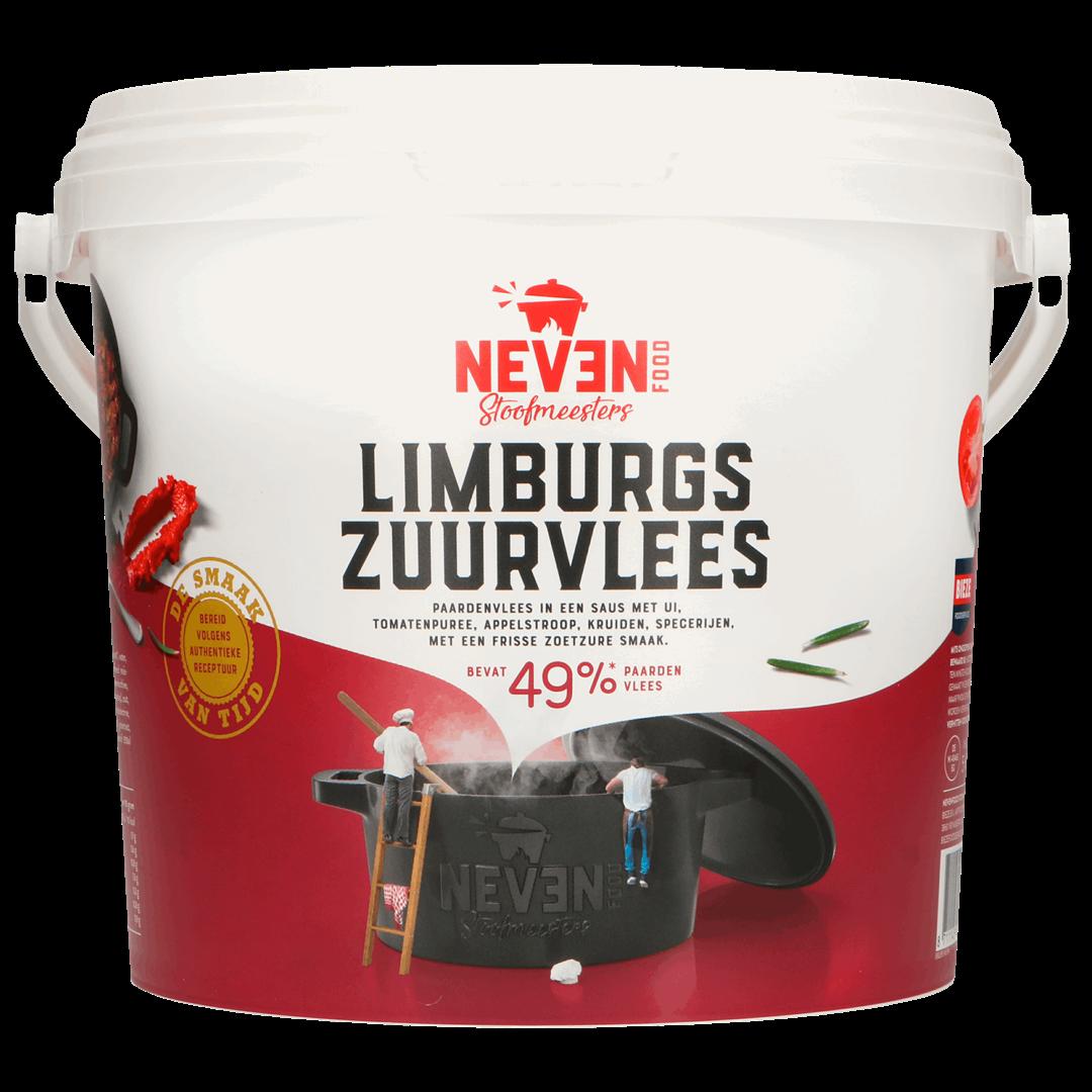 Productafbeelding Limburgs zuurvlees paard speciaal 5kg