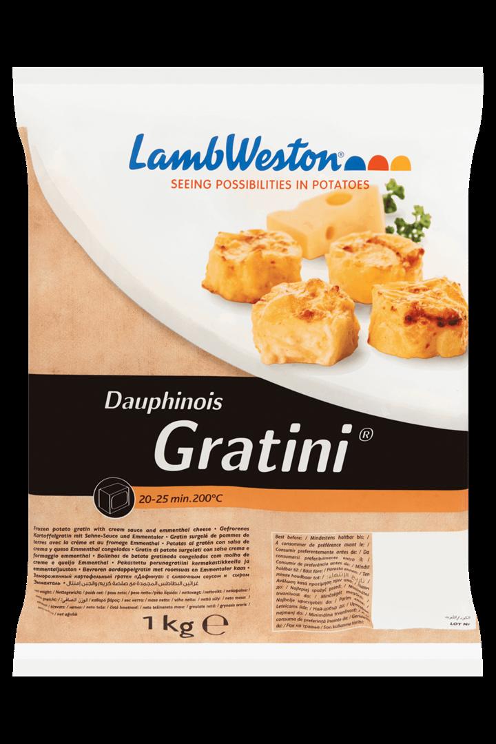 Productafbeelding Lamb Weston Aardappelgratin Dauphinois 1 kg Zak