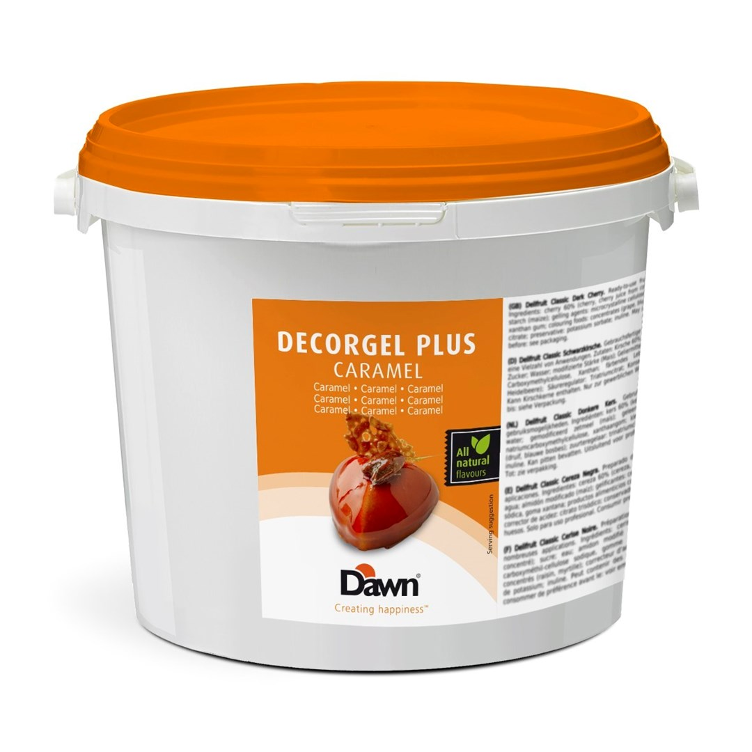 Productafbeelding Dawn Decorgel Plus Caramel 3 kg emmer