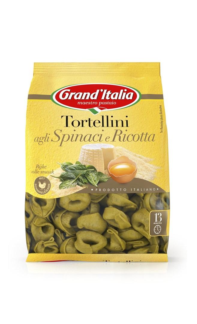 Productafbeelding Grand'Italia Pasta Tortellini agli Spinaci e Ricotta 220 g Zak