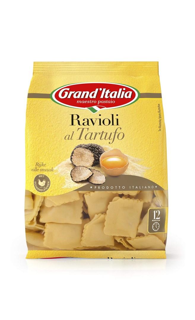 Productafbeelding Grand'Italia Gevulde Pasta Ravioli al Tartufo 220g Zak