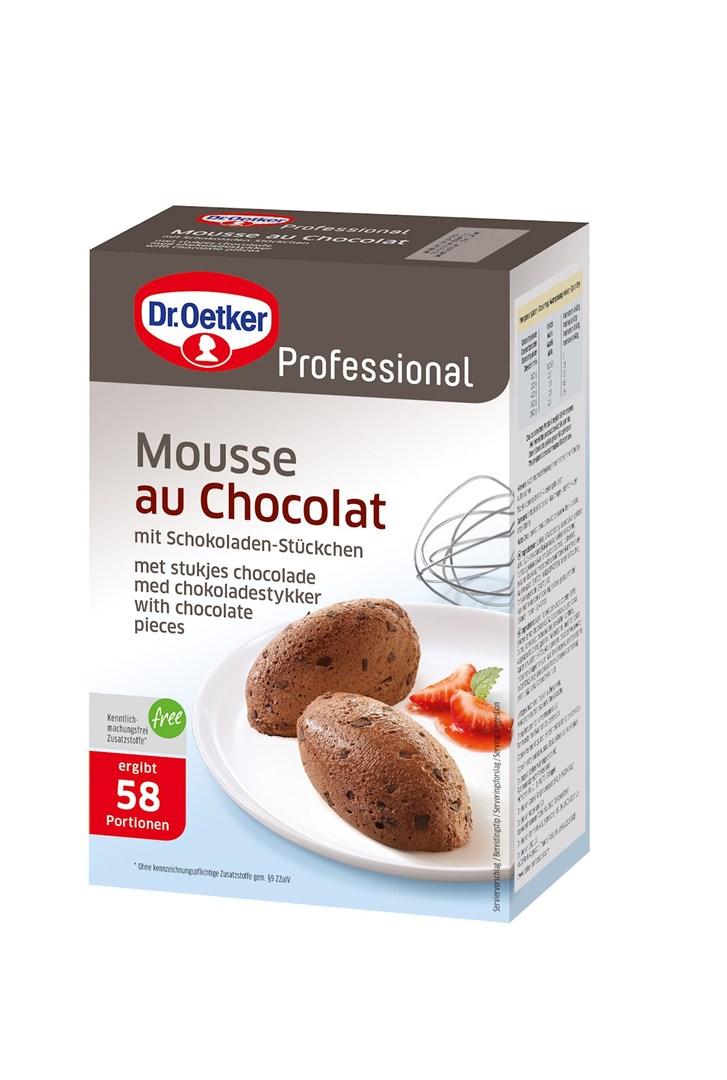 Productafbeelding Dr. Oetker Professional Mousse au Chocolat 6x1kg