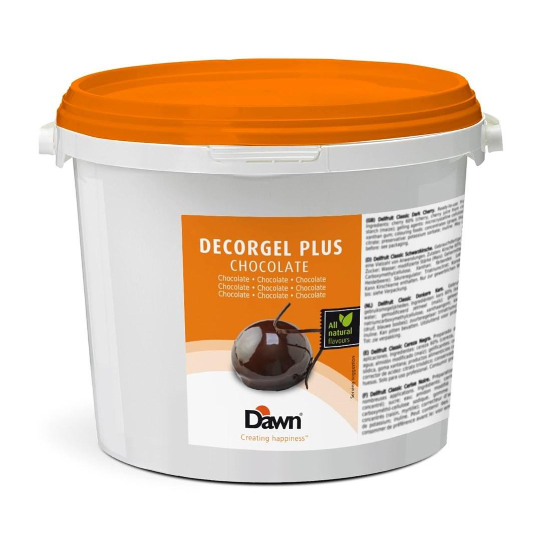 Productafbeelding Dawn Decorgel Plus Chocolade 3 kg emmer