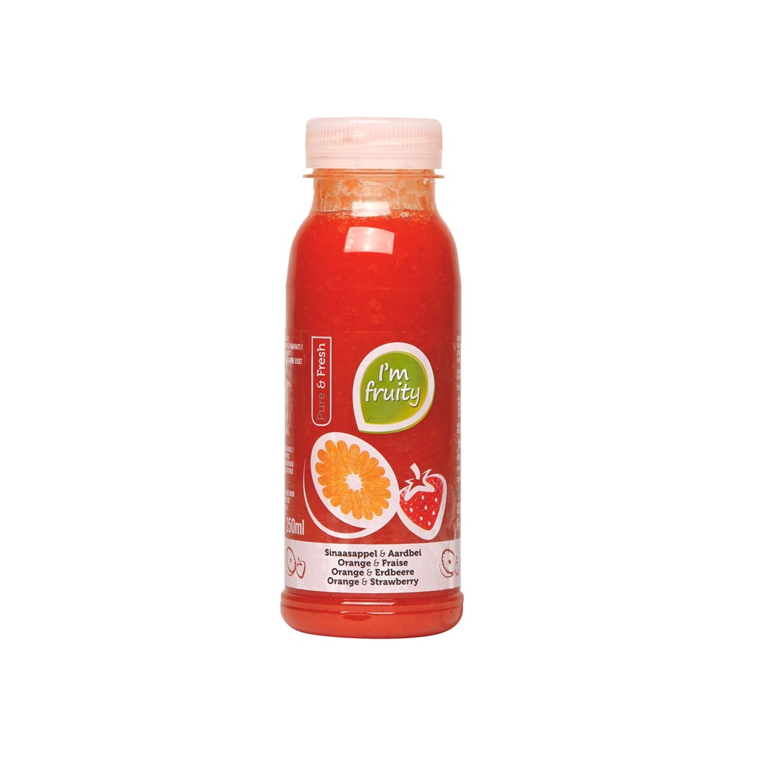 Productafbeelding Sinaasappel-aardbei HPP 250 ml