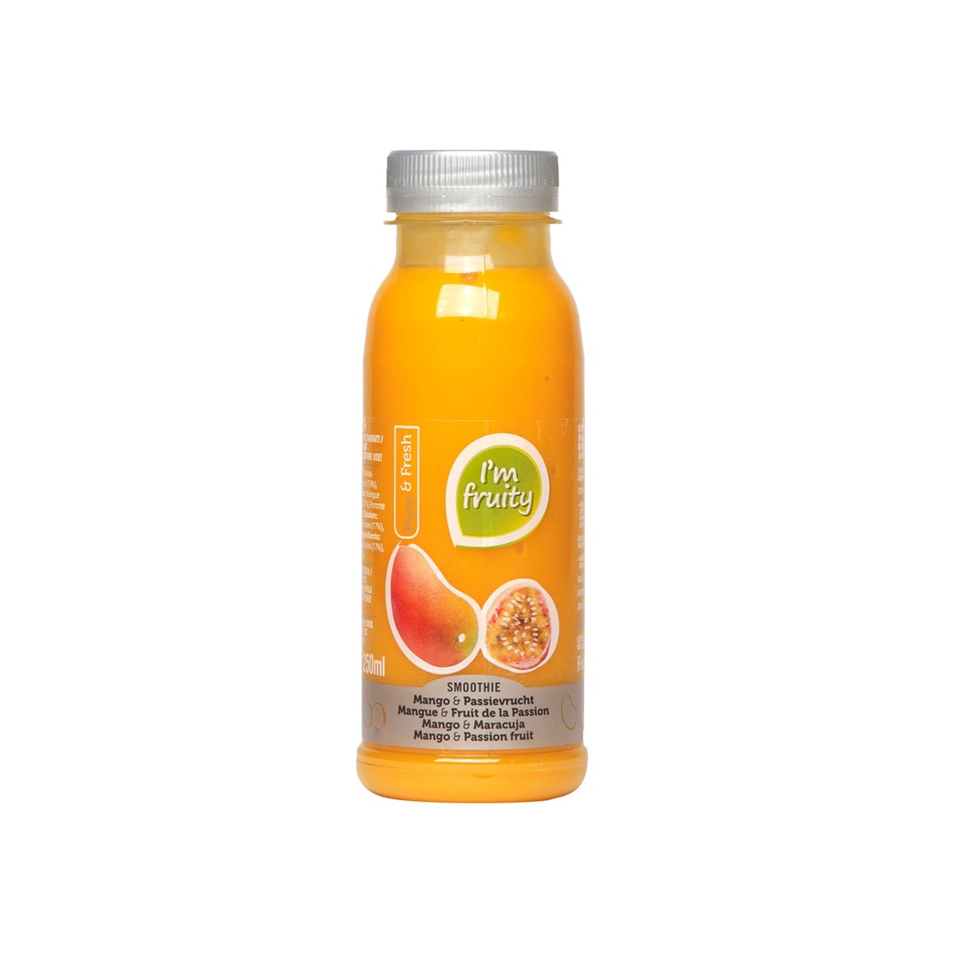 Productafbeelding Smoothie mango-passie HPP 250 ml