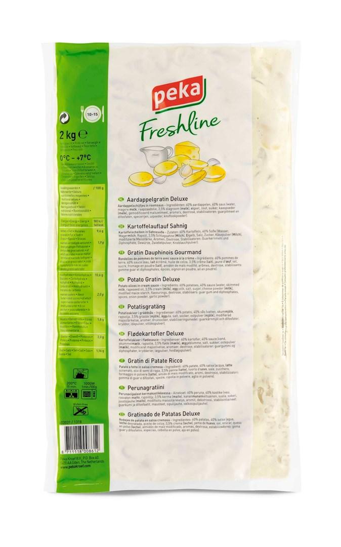 Productafbeelding Peka Freshline Aardappelgratin Deluxe 2kg