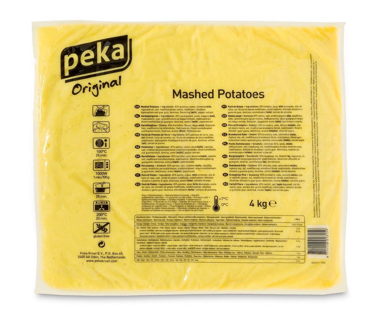 Productafbeelding Peka Aardappelpuree 4kg
