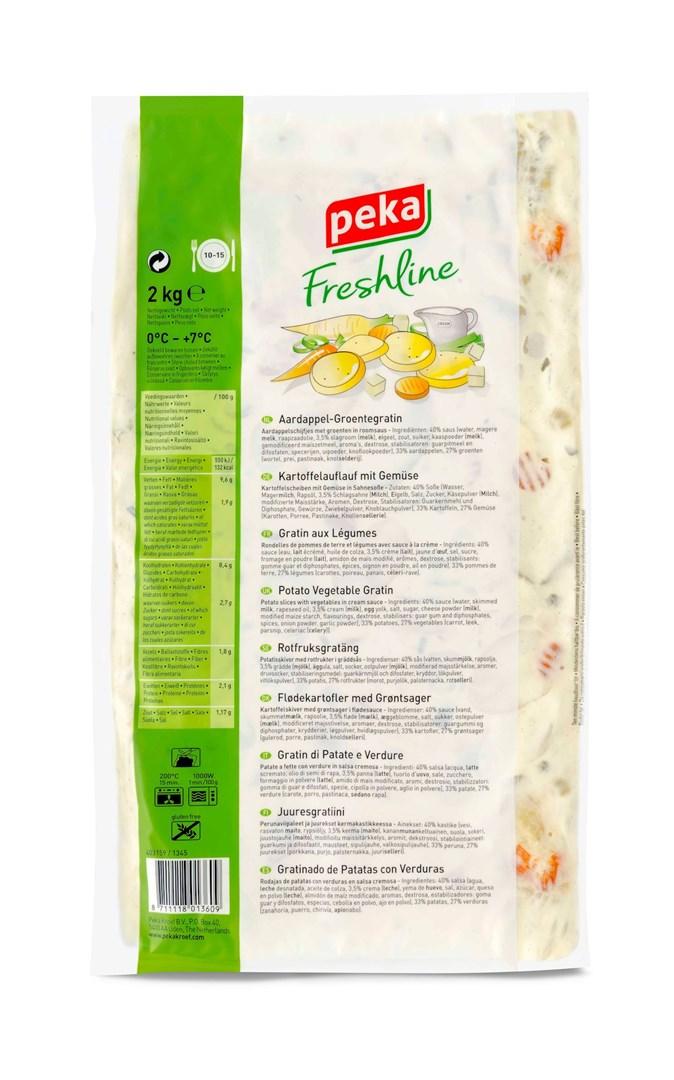 Productafbeelding Peka Freshline Aardappel-groentegratin 2kg