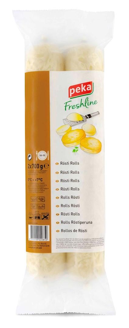 Productafbeelding Peka Freshline Rösti rolls 2x700g