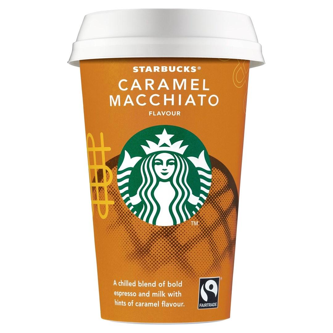 Productafbeelding Starbucks Chilled Classics qandi caramel 220ml beker