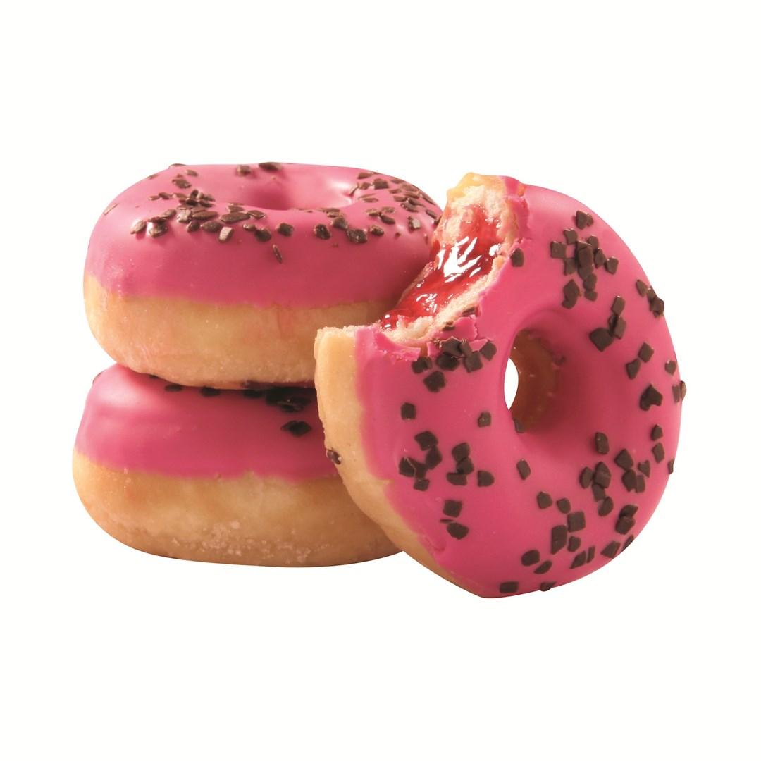 Productafbeelding Mini Donut Strawberry gevuld
