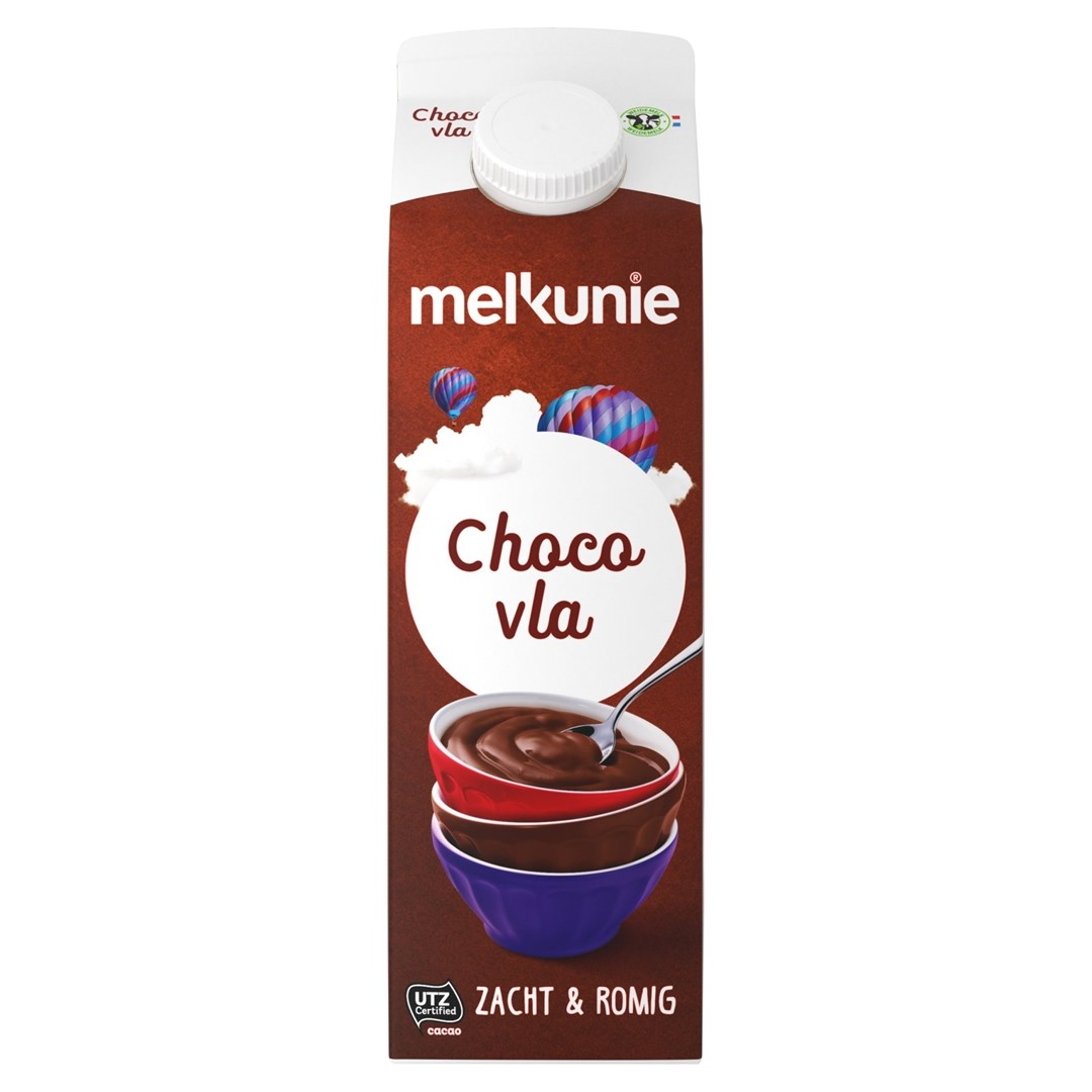Productafbeelding Melkunie Chocolade Vla 1L