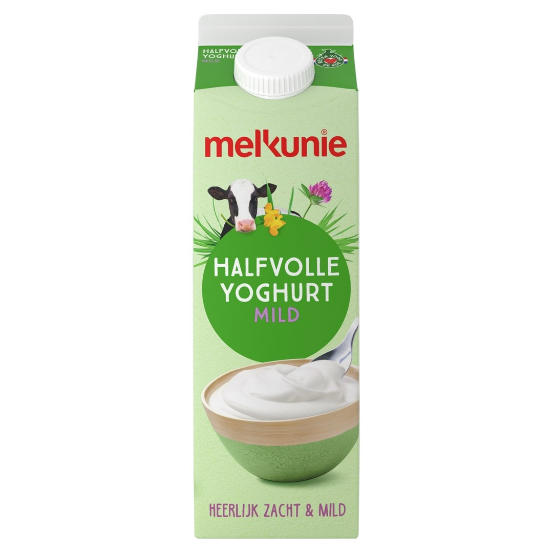 Productafbeelding Melkunie Halfvolle Yoghurt 1L