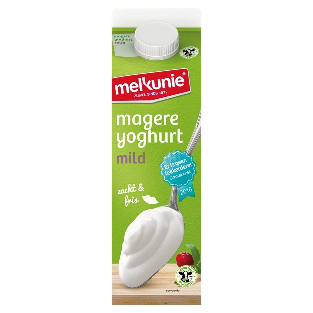 Productafbeelding Melkunie magere yoghurt 1L pak