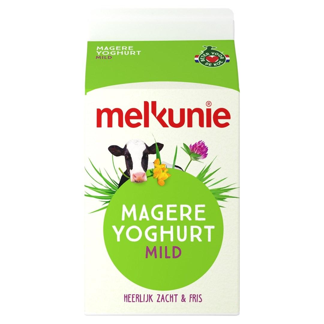 Productafbeelding Melkunie magere yoghurt 500ml pak