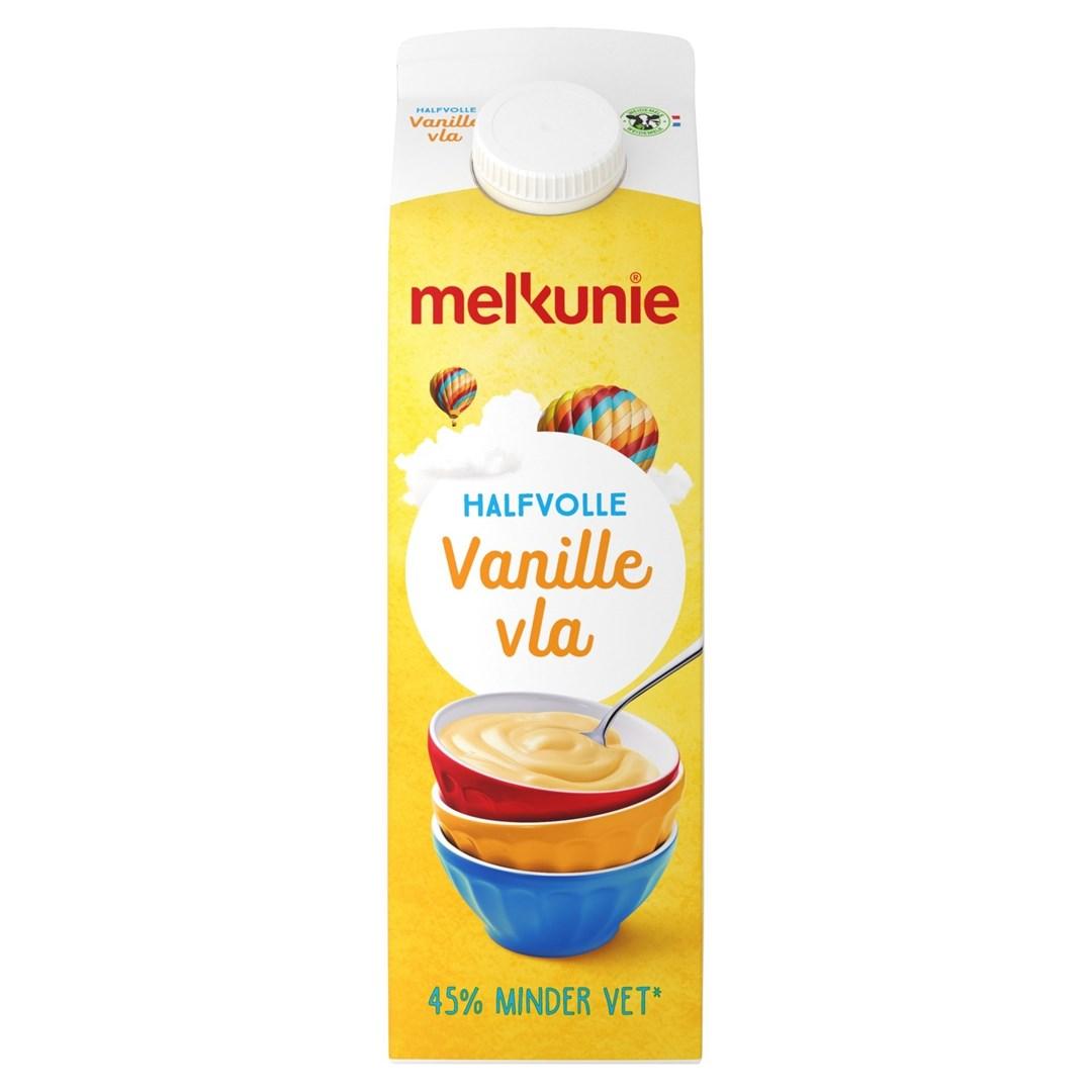 Productafbeelding Melkunie Halfvolle Vanillevla 1L