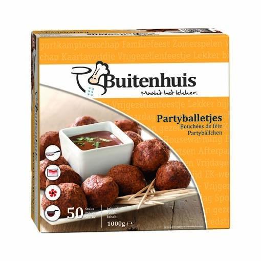 Productafbeelding Buitenhuis Partyballetjes 50x20g