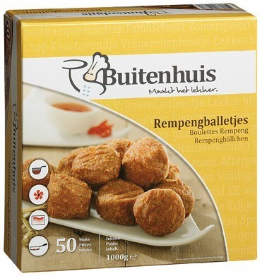 Productafbeelding Rempengballetjes 50 x 20 g
