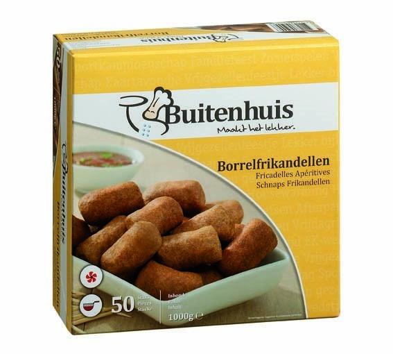 Productafbeelding Buitenhuis Borrelfrikandellen 1000gr doos
