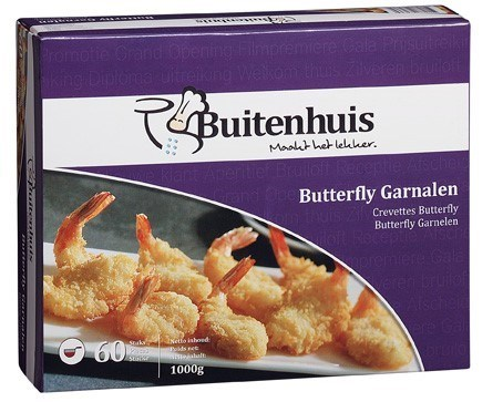 Productafbeelding Buitenhuis Butterfly garnalen 60 st.