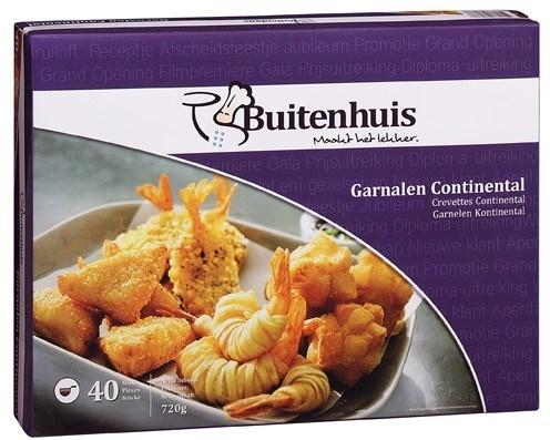 Productafbeelding Buitenhuis Garnalen continental 720 gram