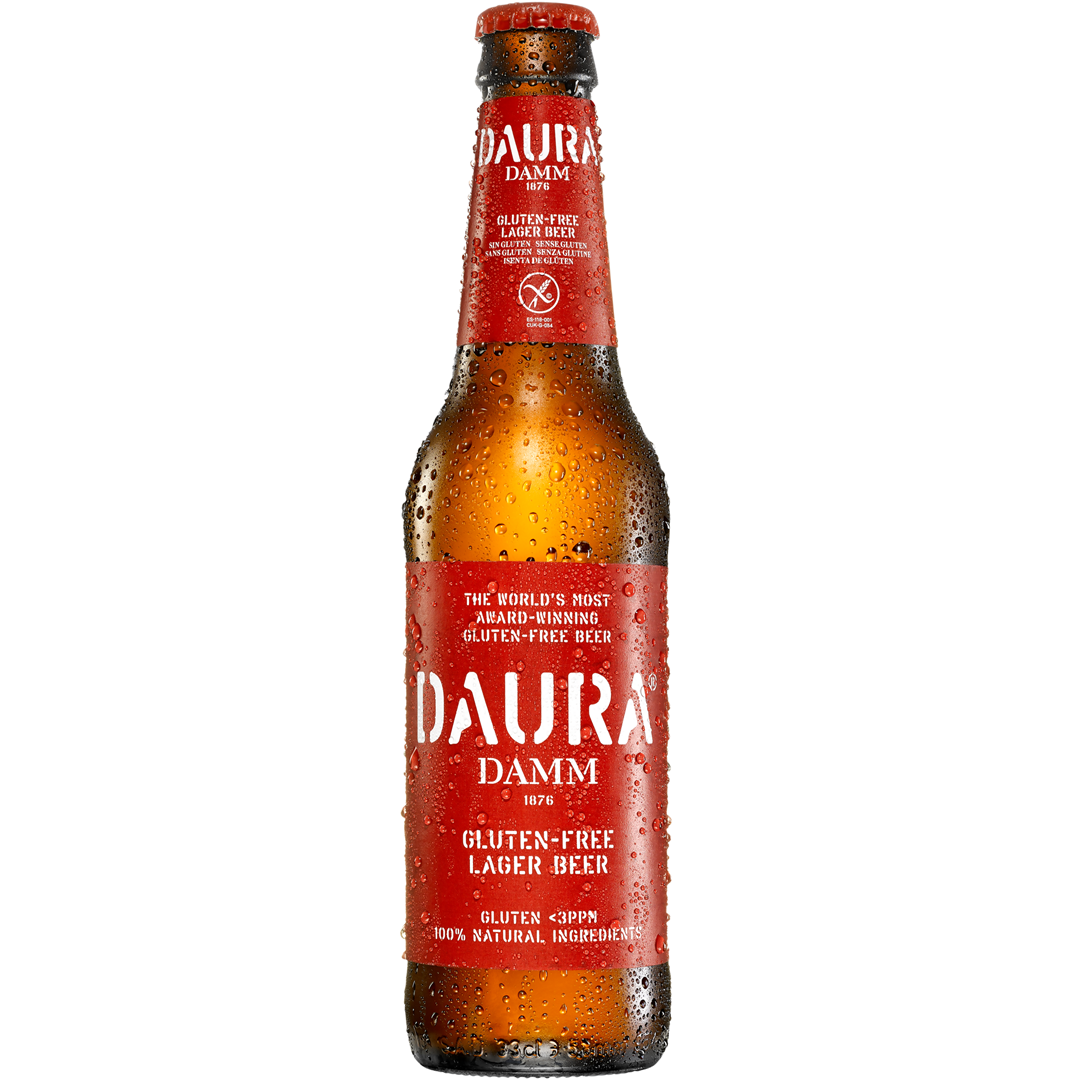 Productafbeelding Daura Damm bier gluten-free lager 330ml fles