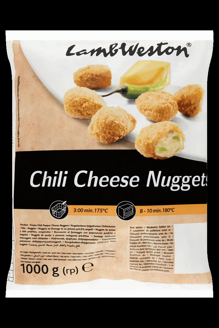 Productafbeelding Lamb Weston Nuggets Chili Cheese 1000 g Zak