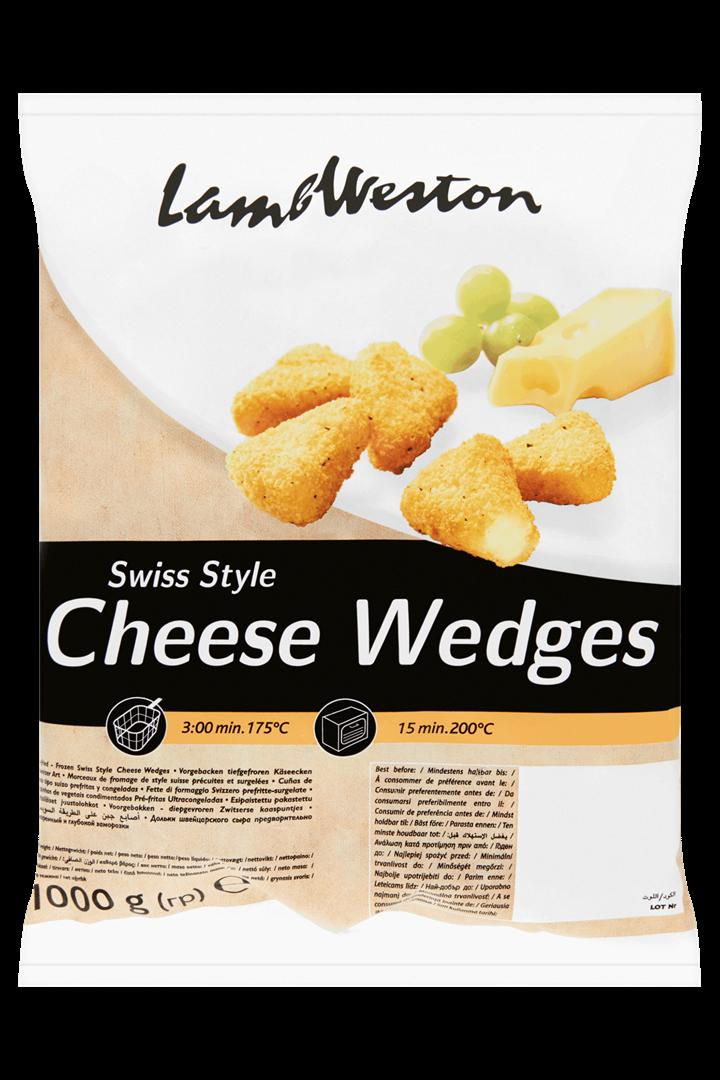 Productafbeelding Lamb Weston Kaaspuntjes Swiss Style 1000 g Zak
