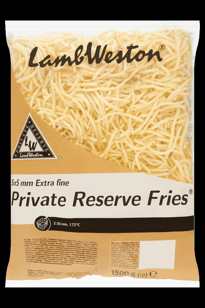 Productafbeelding Lamb Weston Frites Extra Fine 1500 g Zak