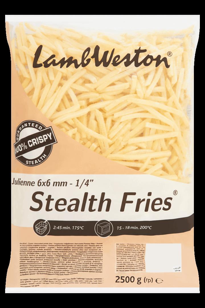 Productafbeelding Lamb Weston Aardappel Frites Stealth Fries 2500 g Zak