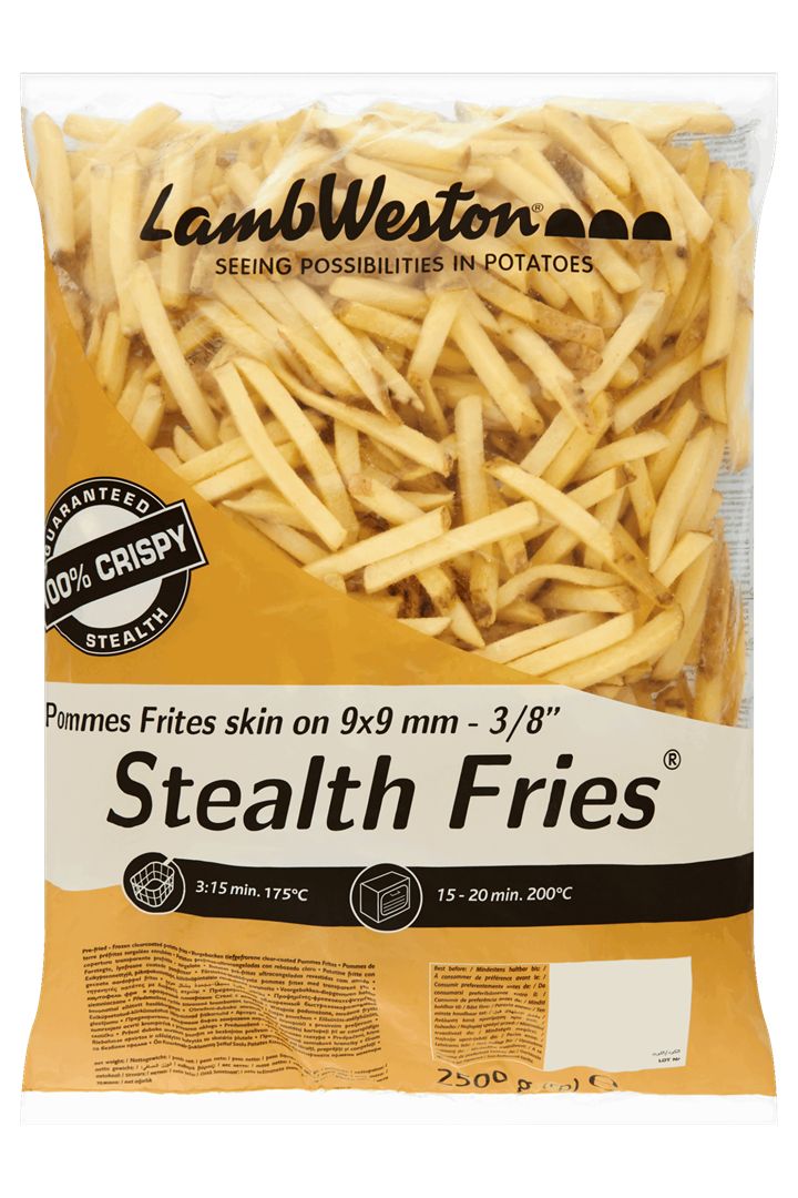 Productafbeelding Lamb Weston Frites Skin on 2500 g Zak